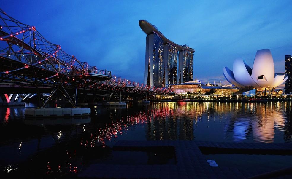 Singapura tem a maior expectativa de vida do mundo — Foto: REUTERS/Kevin Lam