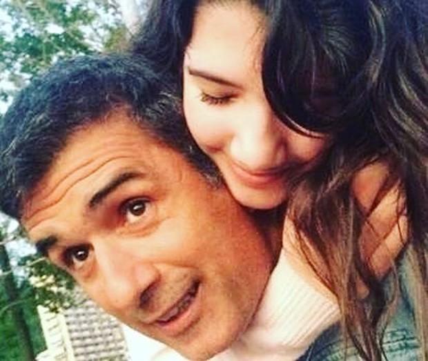"""Marcos Pasquim posta clique raro com a filha adolescente: """"Melhor do mundo"""""""