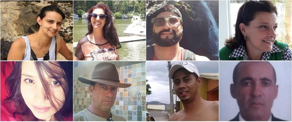 Oito pessoas continuam desaparecidas, mais de 2 anos e 8 meses após tragédia da Vale em Brumadinho. — Foto: Arquivo g1