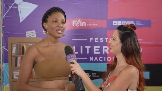 Lázaro Ramos, MV Bill e Luedji Lana falam sobre o Festival Literário Nacional, em Cajazeiras