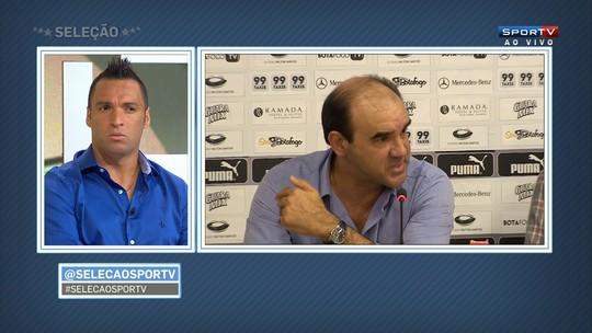 Daniel Carvalho destaca o bom ambiente do Botafogo com Gomes