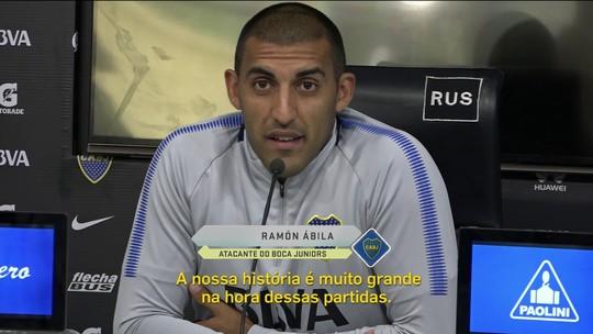 Ex-Cruzeiro, Ábila aposta na pressão da Bombonera para o Boca superar o Palmeiras