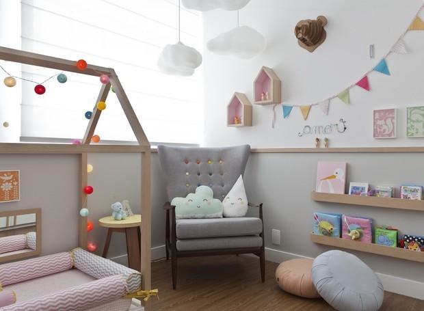 Decoração de quarto infantil moderno
