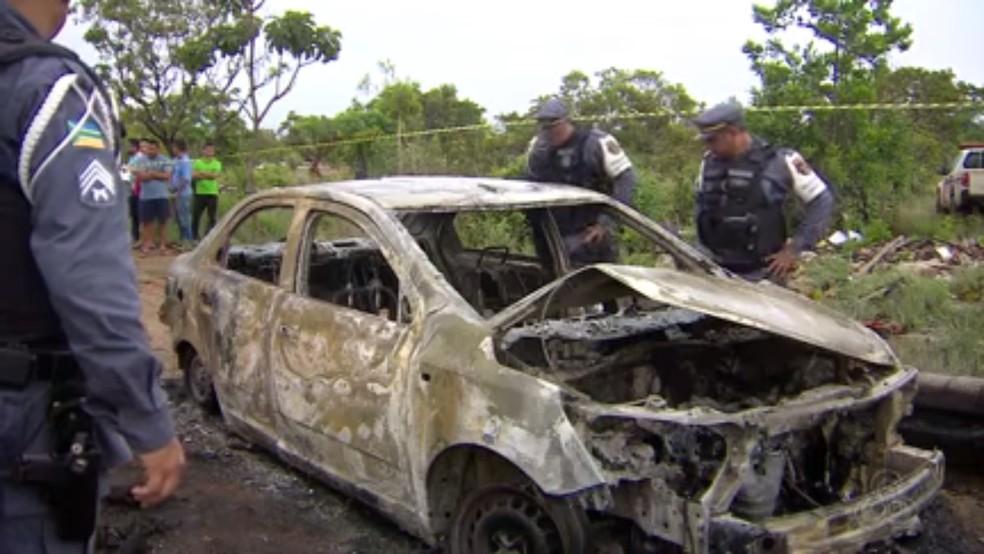 -  Politec confirmou que corpo carbonizado em ramal de Macapá era do taxista raimundo Vieira da Costa  Foto: Rede Amazônica/Reprodução