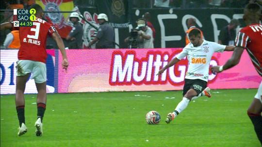 Assista aos gols do tri do Corinthians na vitória por 2 a 1 sobre o São Paulo