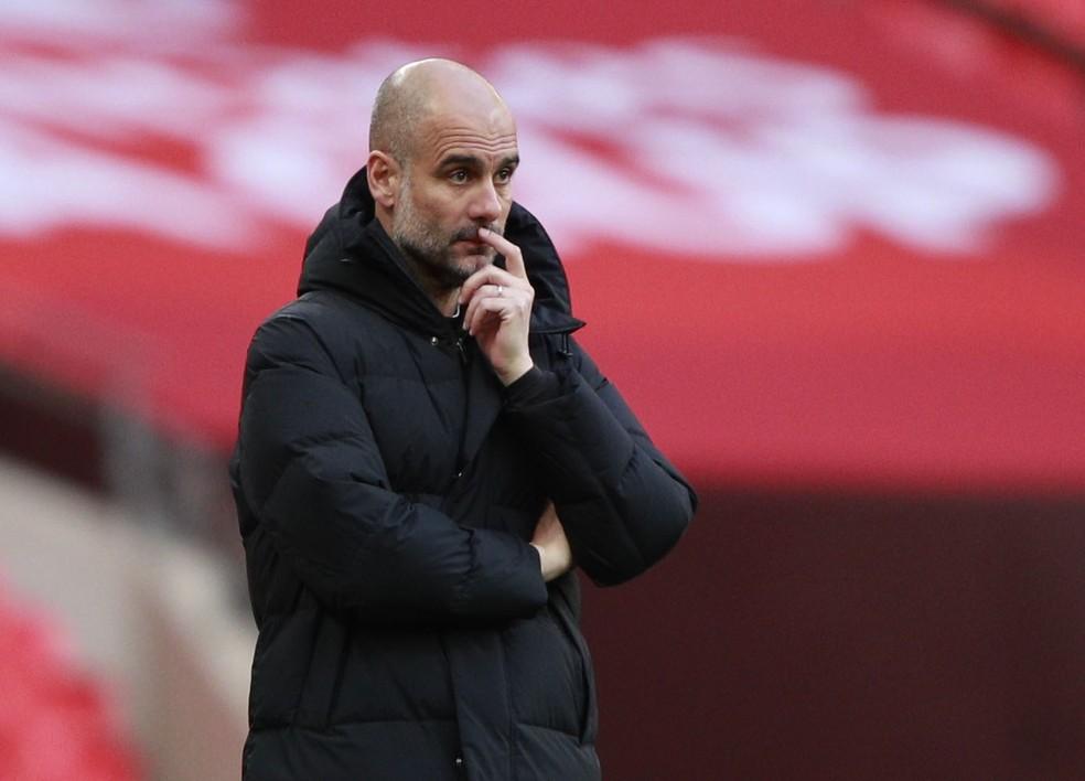 Guardiola — Foto: REUTERS/Ian Walton