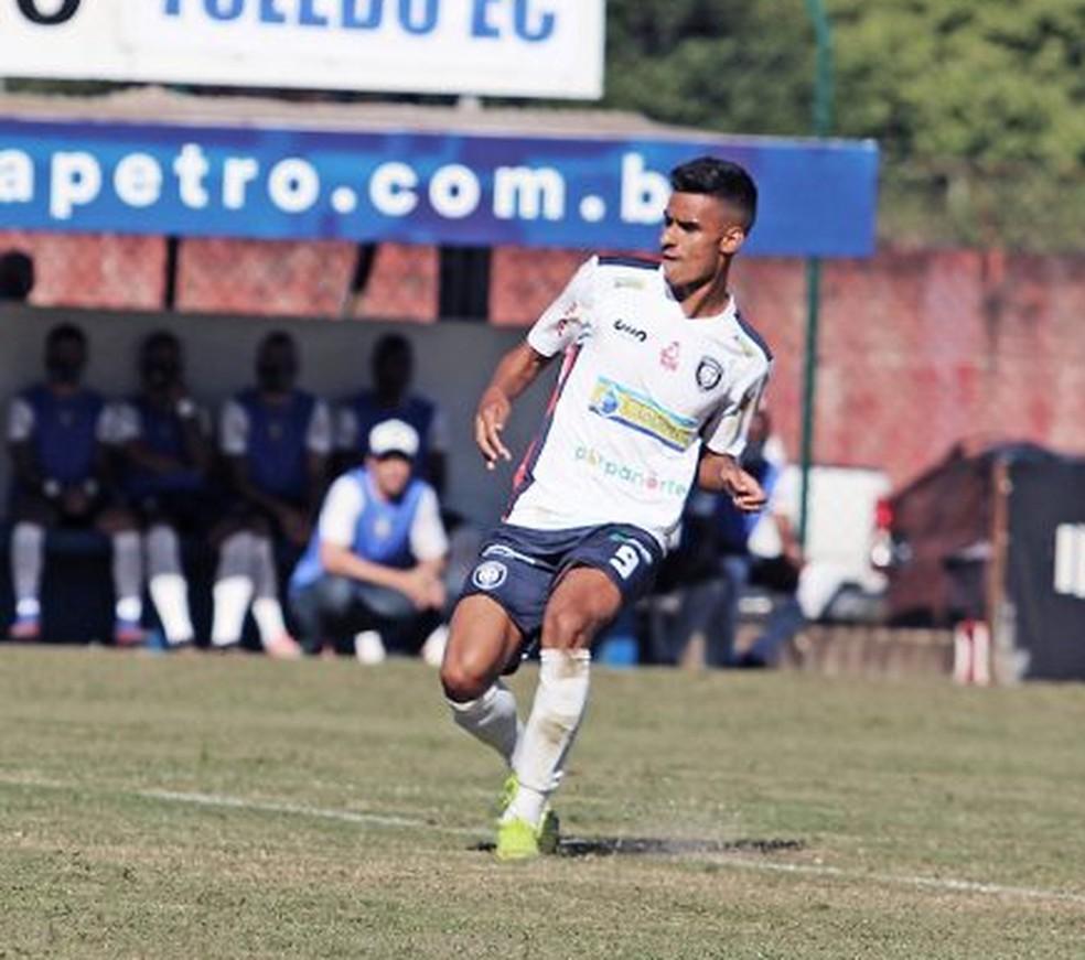 Pachu tem quatro gols pelo Cianorte — Foto: Diego Menegon/Cianorte FC