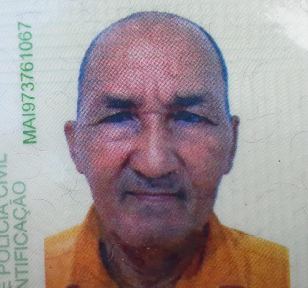 José Araújo Pontes era natural do município de Duque Bacelar e completaria 73 anos no próximo dia 20 de agosto — Foto: Divulgação/Polícia Rodoviária Federal