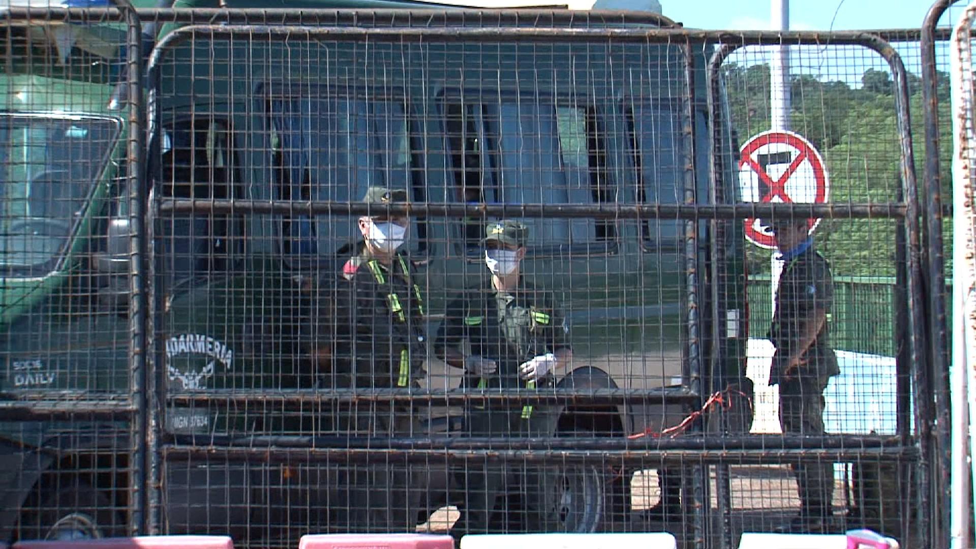 Coronavírus: Argentina fecha Ponte da Fraternidade com grades de ferro, em Foz do Iguaçu