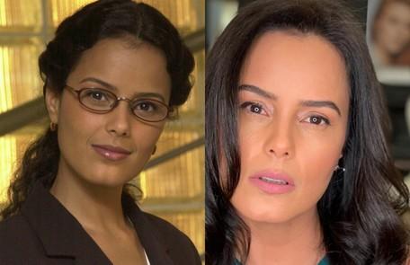 Luciele di Camargo interpretou Dirce. Seu último trabalho na TV foi em 'Bela, a feia' (2009) TV Globo- Reprodução/Instagram
