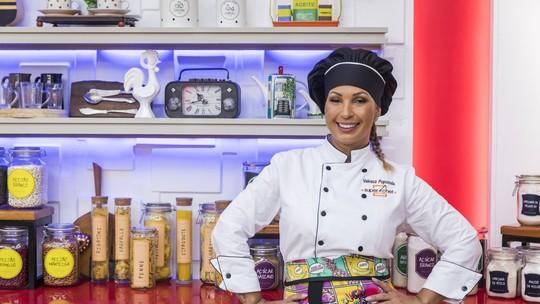 Valesca Popozuda comenta fase caseira no 'Super Chef': 'Nunca pensei que ia amar acordar 5h30'