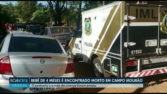 Bebê de quatro meses é encontrado morto em Campo Mourão