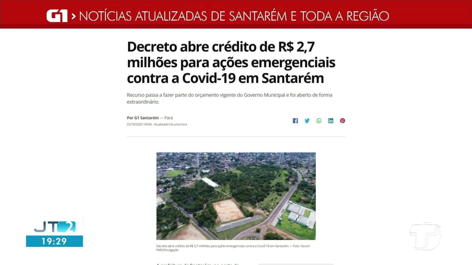 VÍDEOS: Jornal Tapajós 2ª Edição de quinta-feira, 22 de outubro