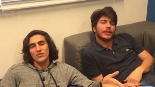 Thales Cavalcanti e Bruno Montaleone dão dicas para os solteiros no dia dos namorados