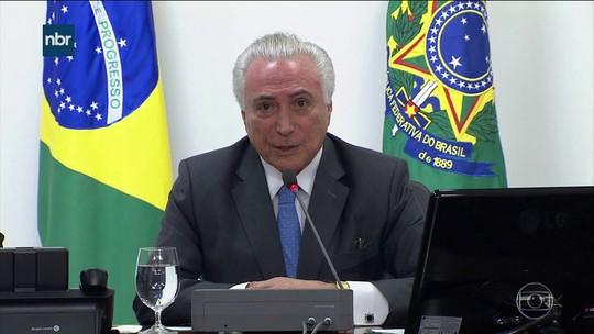 Investigado por ato sobre portos, Temer diz que é 'ilusão' achar que presidente assina, redige e manda publicar decretos