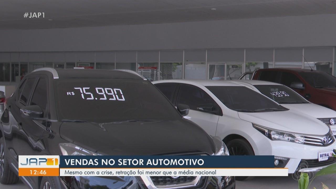 Vendas de veículos no Amapá em 2020 tem retração menor que na média nacional