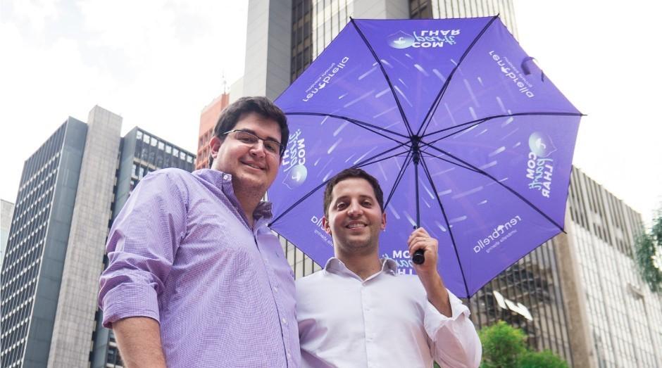 Nathan Janovich e Freddy Marcos, fundadores da Rentbrella (Foto: Divulgação)