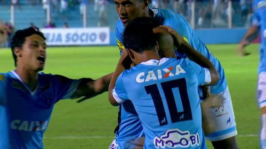 Os gols de Paysandu 1 x 1 CRB pela Série B do Campeonato Brasileiro