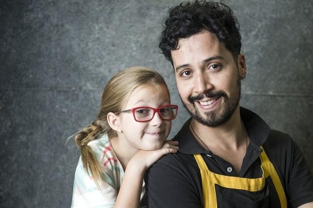 Maria Rita e Arlindo Lopes nas gravações de Malhação (Foto: Divulgação/TV Globo)
