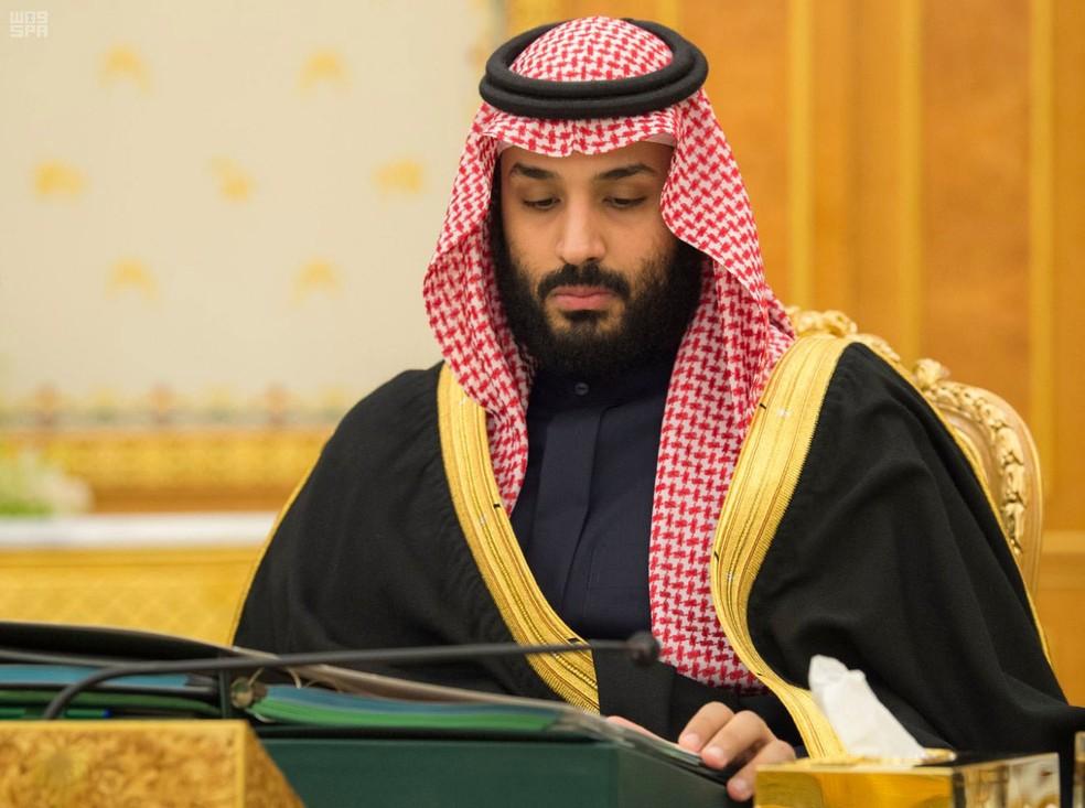 -  Príncipe da Arábia Saudita, Mohammed bin Salman, em foto de 5 de dezembro de 2017  Foto: Saudi Press Agency/ Reuters
