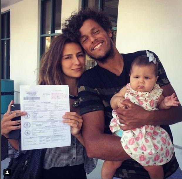 Paula Morais, Feijão e Amora (Foto: Reprodução Instagram)