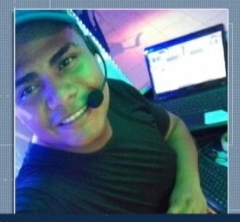 Dj é uma das vítimas de chacina que matou 11 em bar de Belém. — Foto: Reprodução / TV Liberal