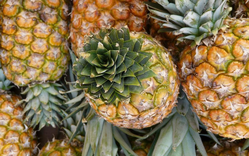 Para cultivar o abacaxi é preciso usar grandes quantidades de pesticidas — Foto: Hans/Creative Commons