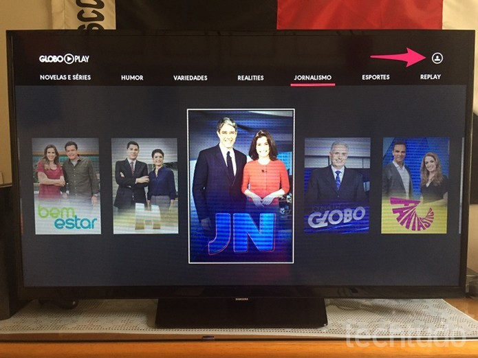 Saiba como usar o Globo Play em uma Smart TV Samsung | Dicas e