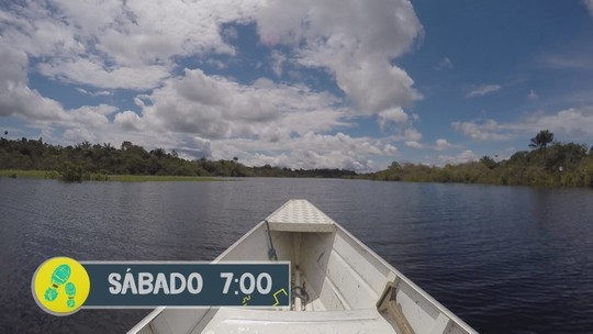 Reveja do 'Partiu Amazônia' deste sábado (19) é viagem à Comunidade São Thomé