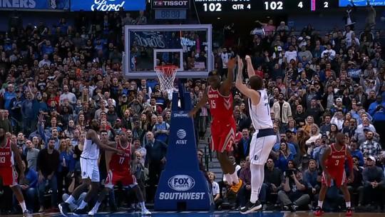 Calouro Luka Doncic explode no fim, Mavericks viram sobre os Rockets e afundam os rivais