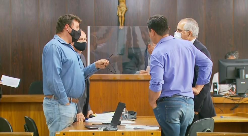 Empresa de café define em audiência como será feito pagamento a produtores em Muzambinho — Foto: Reprodução/EPTV