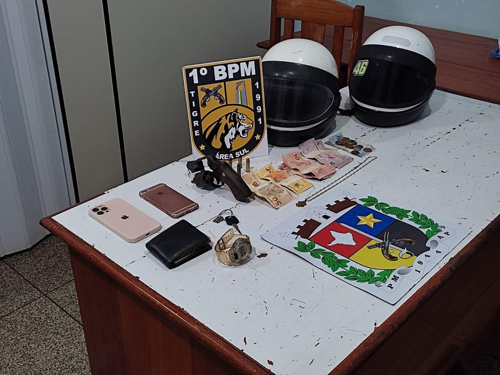 Acusado de roubo a açougue no AP morre em confronto com a PM; 2º suspeito foi preso na ação