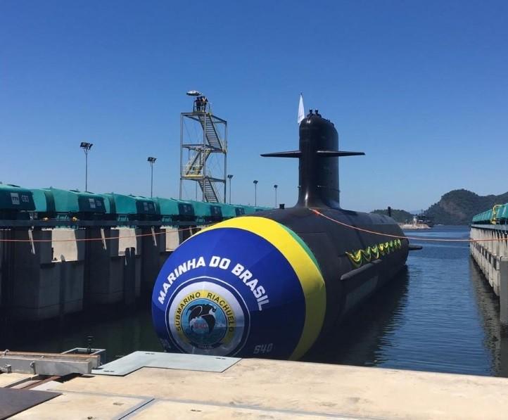 7a1077772 Marinha lança novo submarino Riachuelo - Época NEGÓCIOS