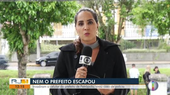 Prefeito de Petrópolis, RJ, tem celular hackeado