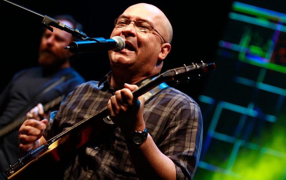O cantor Herbert Vianna, dos Paralamas do Sucesso — Foto: Lucíola Villela/G1