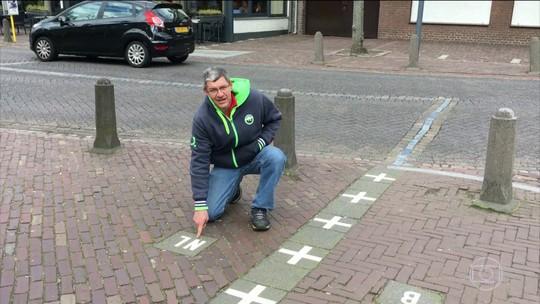 Cidade no Norte da Europa divide ruas e propriedades entre a Bélgica e a Holanda