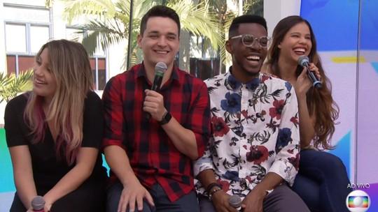 Finalistas do 'The Voice Brasil' comentam expectativa para a grande final