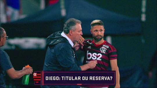 Seleção SporTV discute se Diego é titular ou reserva do Flamengo