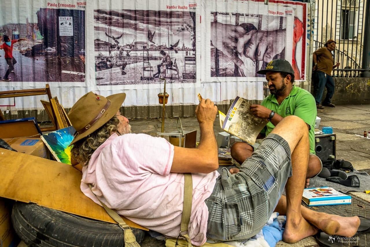 Exposição que retrata pessoas à margem da sociedade terá visita guiada com fotógrafo em Petrópolis, no RJ - Radio Evangelho Gospel