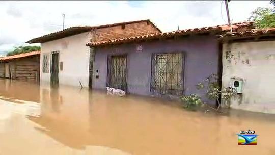 Mais de 500 famílias são atingidas pelas enchentes em Pedreiras no Maranhão