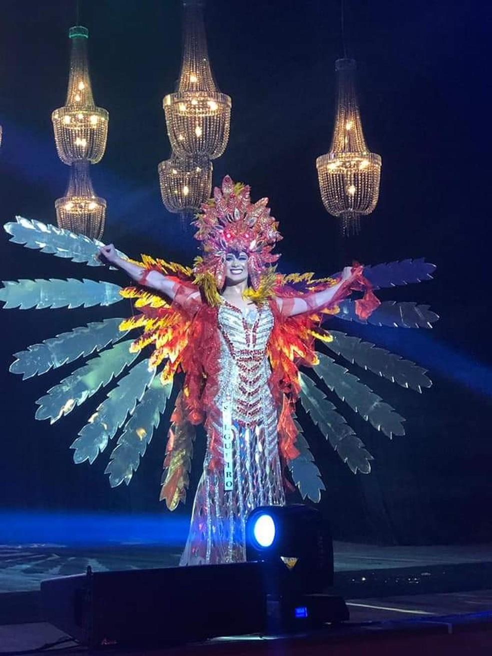 Antônia Gutierrez venceu o Miss Pernambuco Gay — Foto: Mega Foco/ Arquivo pessoal