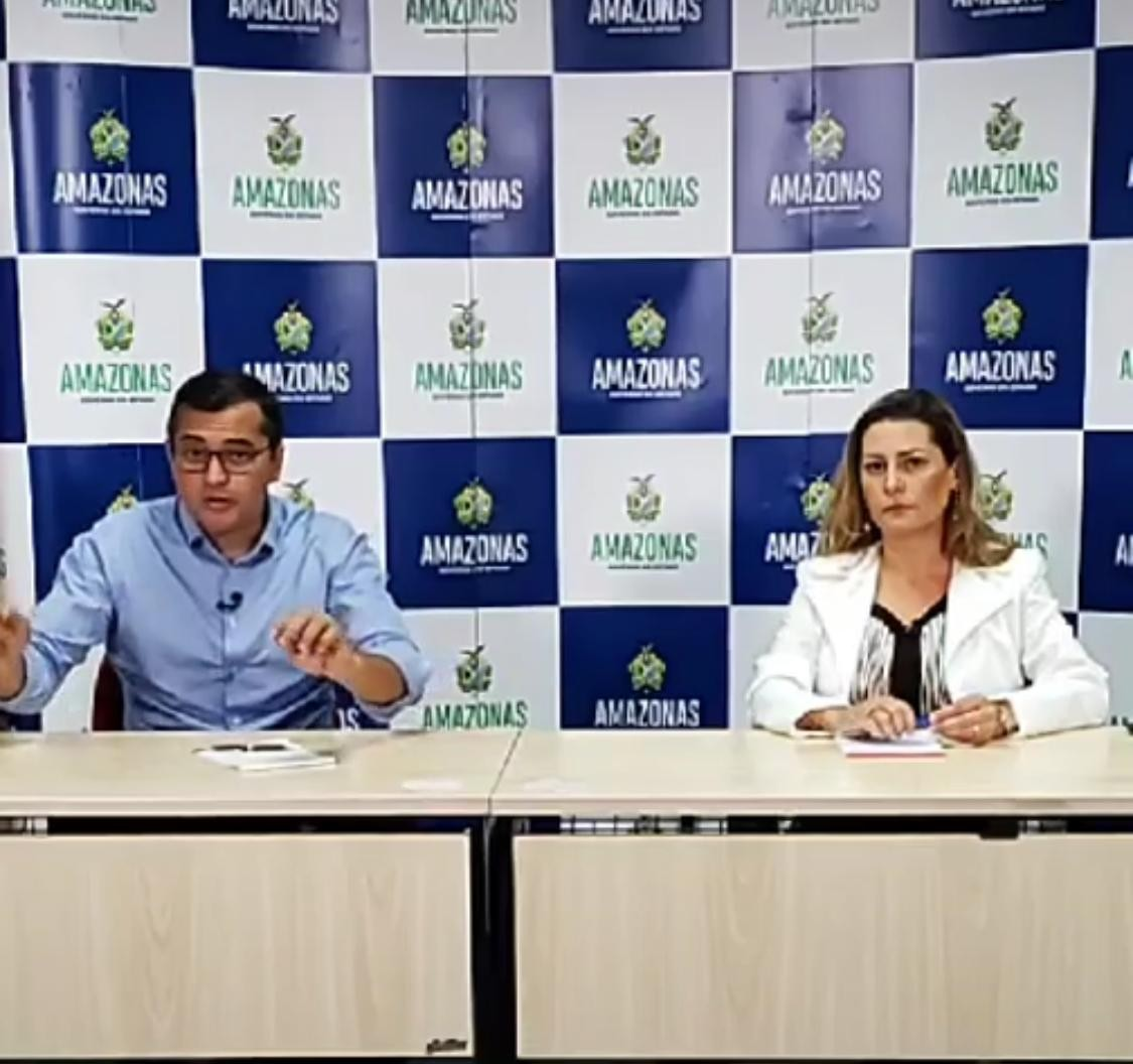 Pico de Covid-19 no AM 'está se antecipando', diz governador; Estado vai receber R$ 15 milhões por mês do MS para ampliação da rede de saúde