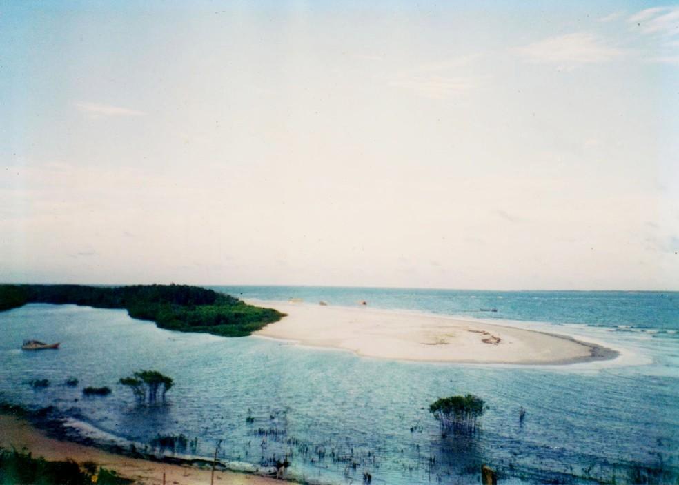 Praia de Fortalezinha, Pará. — Foto: Reprodução