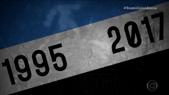 Coincidências fazem de 2017 um ano promissor para o Grêmio na Libertadores
