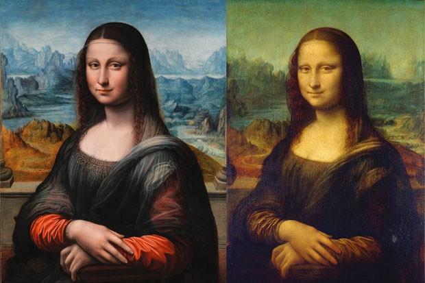 Mona Lisaa (Foto: divulgação / cortesia Claus-Christian Carbon e Vera M. Hasslinger)