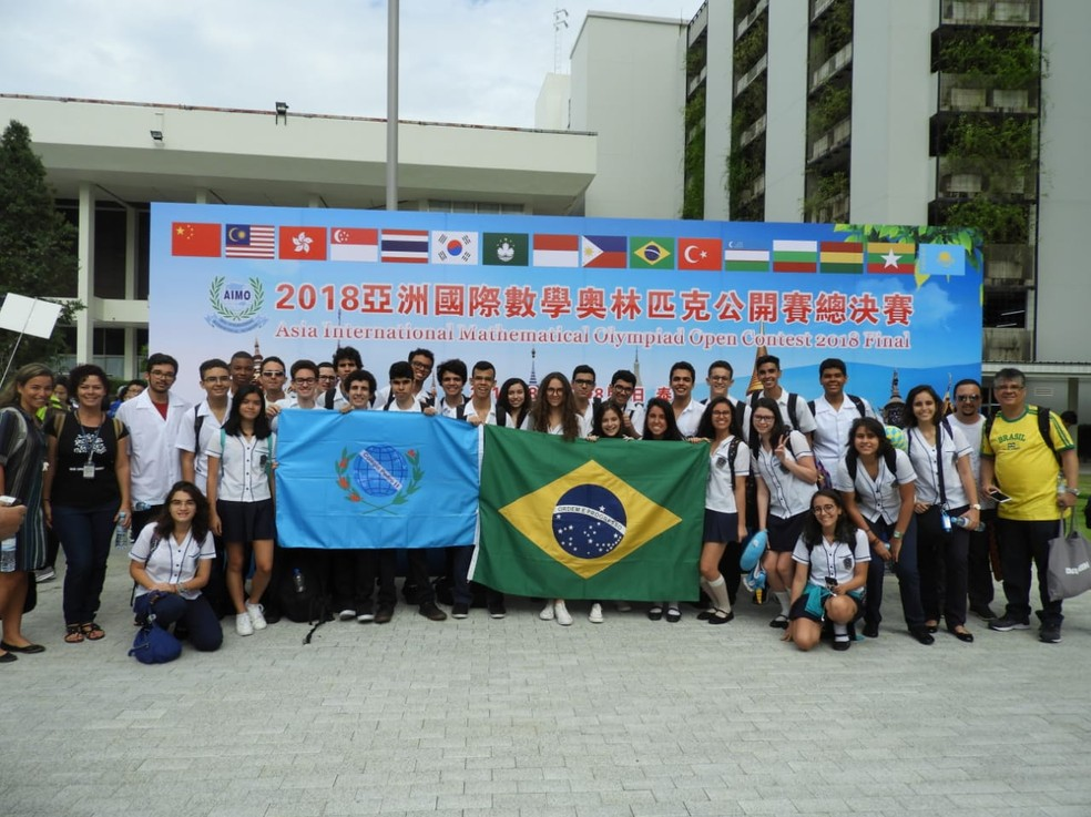 Estudantes de vários estados do Brasil participaram da competição na 30a37c2421beb