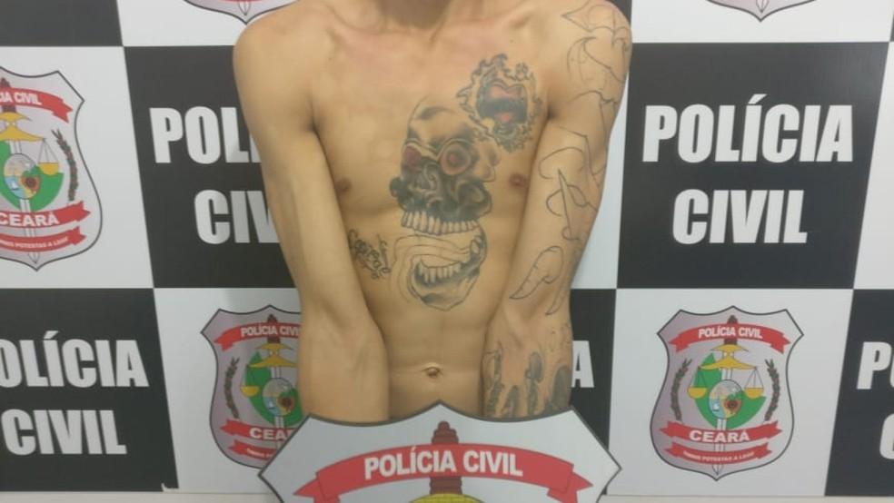 Tatuador matou rapaz que demonstrou interesse pela namorada dele — Foto: SSPDS/Divulgação