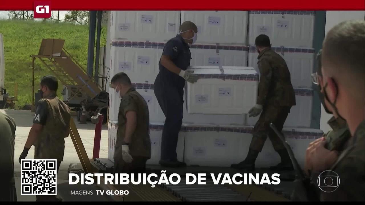 G1 em 1 Minuto: vacinação nacional começa nesta segunda-feira