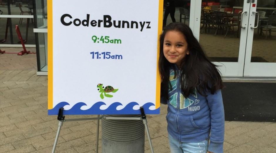 Samaira Mehta, criadora do jogo CoderBunnyz (Foto: Divulgação)