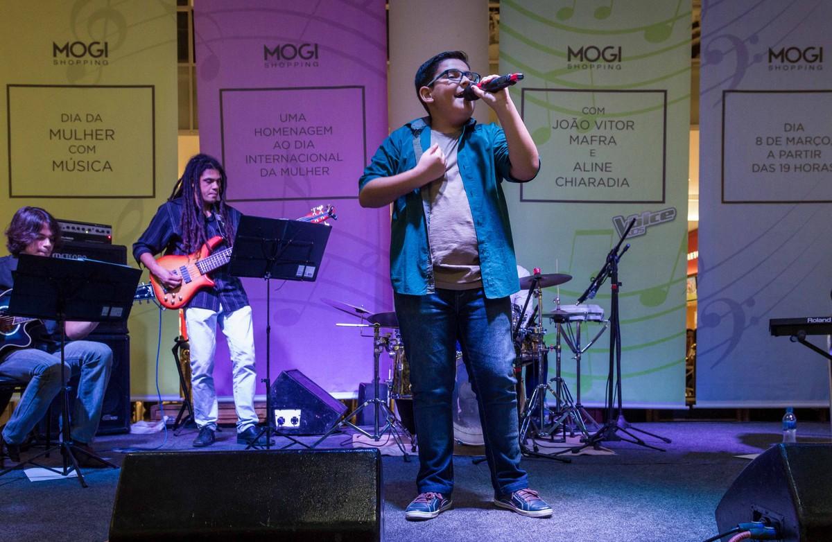 João Vitor Mafra, ex-The Voice Kids, se apresenta nesta sexta-feira em Mogi das Cruzes
